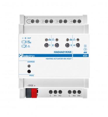 Kütte/jahutuse kontroller 4 kanalit