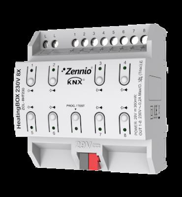 Kütte/jahutuse kontroller 8 kanalit